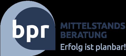 bpr Mittelstandsberatung Logo Footer